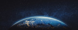 Planet Earth - Europe. Elements of this image furnished by NASA - 238169477