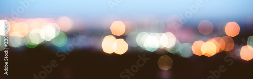 City lights blur bokeh - 238169887