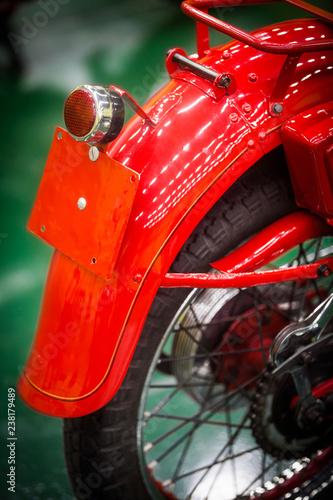Vintage motorcycle brake light