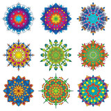 Colorful Mandala Ornament Designs 3