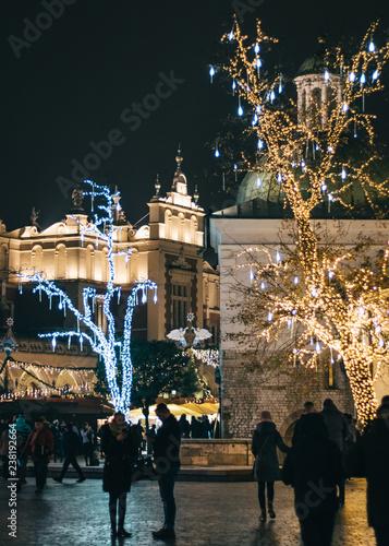 Kraków Rynek Bożonarodzeniowy