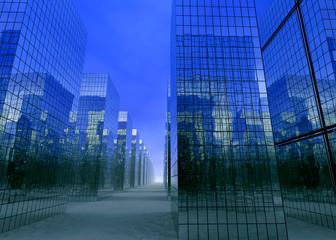 Empty City - 3D