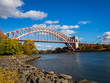 Hell Gate Bridge in New York