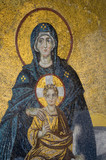 Mosaic of Virgin Mother and her Child - 238200429
