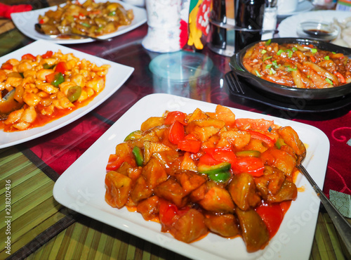 Several Chinese food types - 238202436
