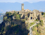 city bagnoregio in italy. The city that is dying - 238205441