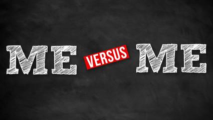 ME versus ME