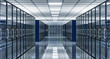 3d image of data center