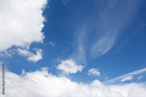 Blue sky and clouds - 238235255