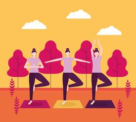 people yoga activitie © Gstudio Group