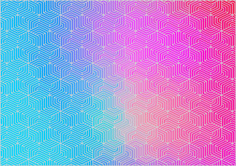 Horizontal Abstract gradient color pattern texture for your design