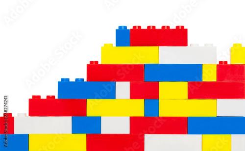Toy Brick Wall - 238274241