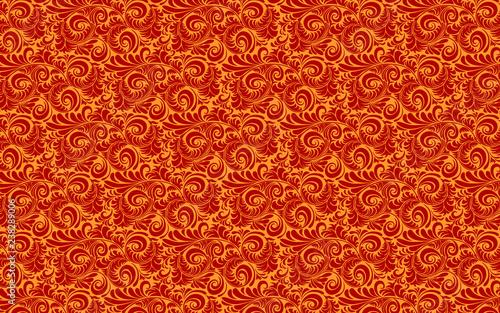 seamless floral pattern - 238289006