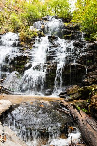 Walhalla Waterfall South Carolina - 238297412