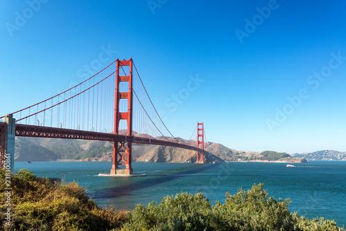 Obraz na płótnie Golden Gate Bridge w San Francisco