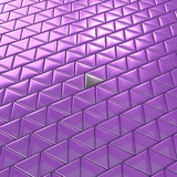Abstract  purple triangles. Background texture. 3D rendering.