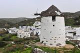 Old abandoned windmill at Byblos village, Naxos - 238316829