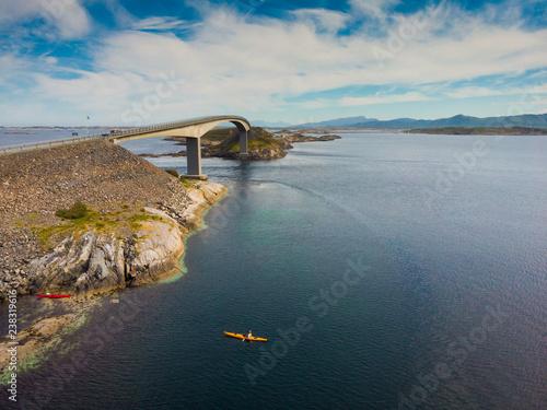 Fototapeta The Atlantic Road in Norway