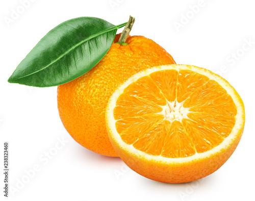 Orange fruits isolated - 238323460