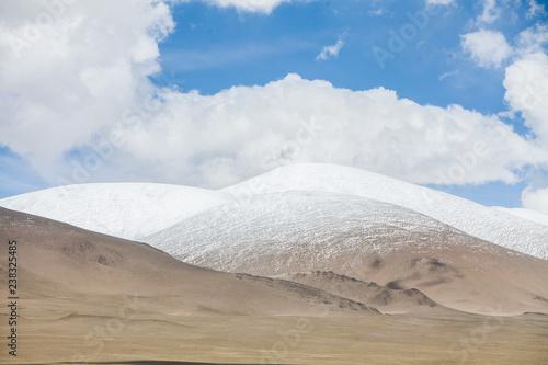 Tajikistan mountain range