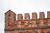 The red-brick fortress