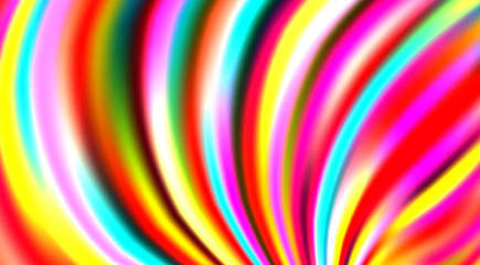 Bright colorful striped background with multicolor stripes. Vector pattern