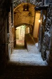 Italy. Dolceacqua. In the womb of the Old City