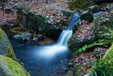 Kleiner Wasserfall im Schwarzwald