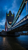Tower Bridge At Dusk © johnp33