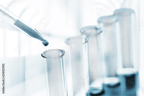 Science laboratory test tubes , laboratory equipment | Buy