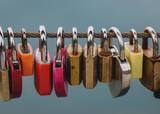 love padlocks on the lakeshore - 238426005