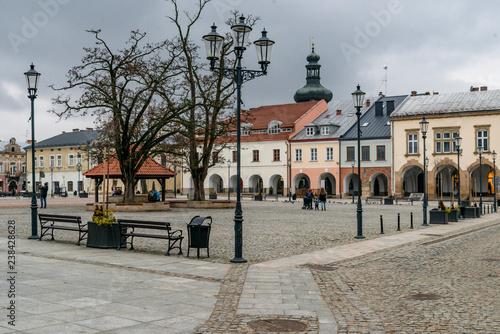 Fototapeta Krosno - polish town called small Cracow