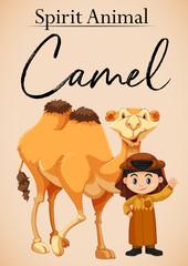 A spirit animal camel © blueringmedia