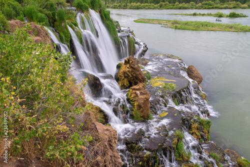 Fall Creek Falls on Snake River, Idaho, USA - 238499217