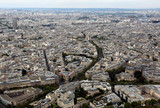 metropolis of Paris in France from the top of the Eiffel Tower - 238503211