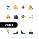 Space icon set © Neung Stockr