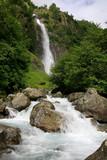 Wasserfall in Südtirol, Partschins, Meran, Italien - 238510078