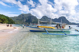 beautiful sea at El Nido, Palawan