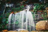 Waterfall at Hever castle - Long exposure