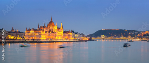 mata magnetyczna Budapest at Night