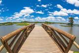 Nature park blue sky