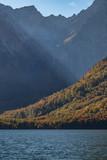 Sonnenstrahlen am Königssee