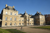 Palais et jardin du Luxembourg à Paris, France