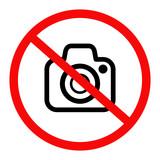 znak zakaz fotografowania - 238588883