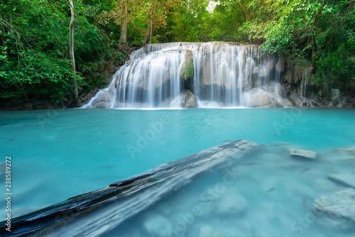 Erawan Waterfall in Kanchanaburi, Thailand - 238589272
