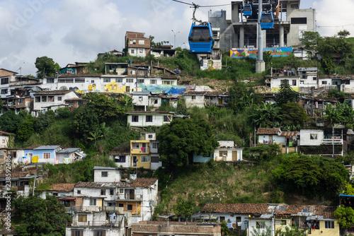 Fototapeta Medellin's Metro Cable