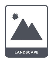 landscape icon vector © Meth Mehr