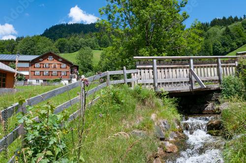 Obraz na płótnie Country view of Vorarlberg