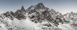Winter landscape Alps in Switzerland