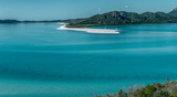 Whitehaven Beach aerial view, Whitsunday Islands - 238690021